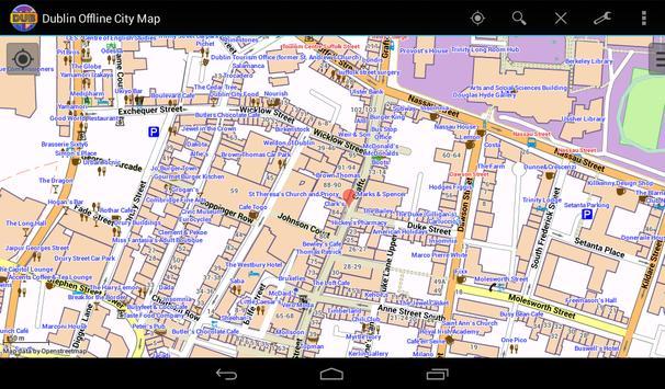 Dublin Offline City Map screenshot 14