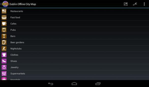 Dublin Offline City Map screenshot 10