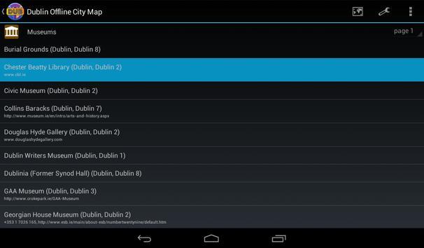 Dublin Offline City Map screenshot 11