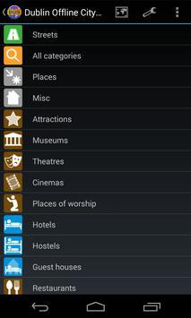 Dublin Offline City Map screenshot 1