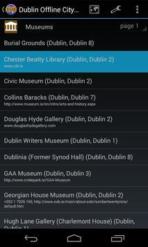 Dublin Offline City Map screenshot 3