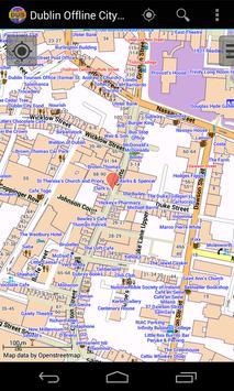 Dublin Offline City Map screenshot 6