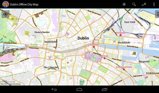 Dublin Offline City Map screenshot 8