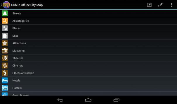 Dublin Offline City Map screenshot 9