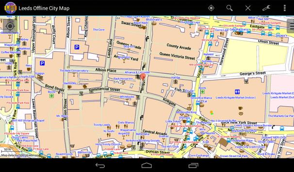 Leeds Offline City Map screenshot 14