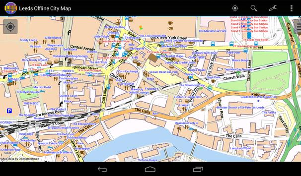 Leeds Offline City Map screenshot 15