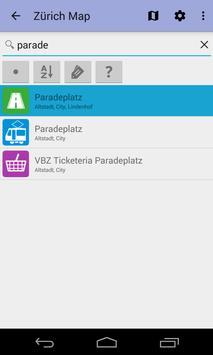 Zurich Offline City Map Lite screenshot 6