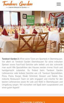 Tandoori Garden 2 (Obertshausen) poster