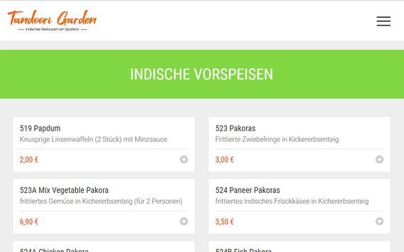 Tandoori Garden 2 (Obertshausen) screenshot 7