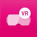 Magenta Virtual Reality Cardboard