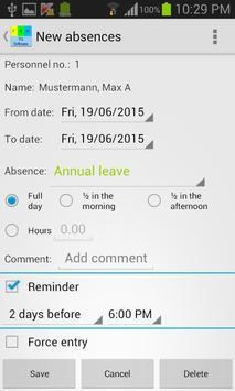 My shift schedule - team TRIAL screenshot 3