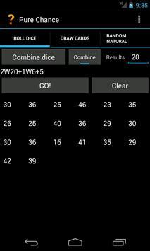 Pure Chance screenshot 1