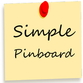 Simple Pinboard icon