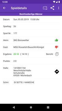HSG Rüsselsheim Bauschheim Königstädten screenshot 2