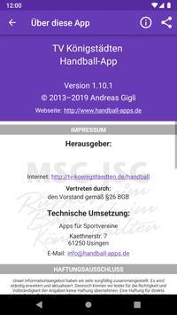 HSG Rüsselsheim Bauschheim Königstädten screenshot 3