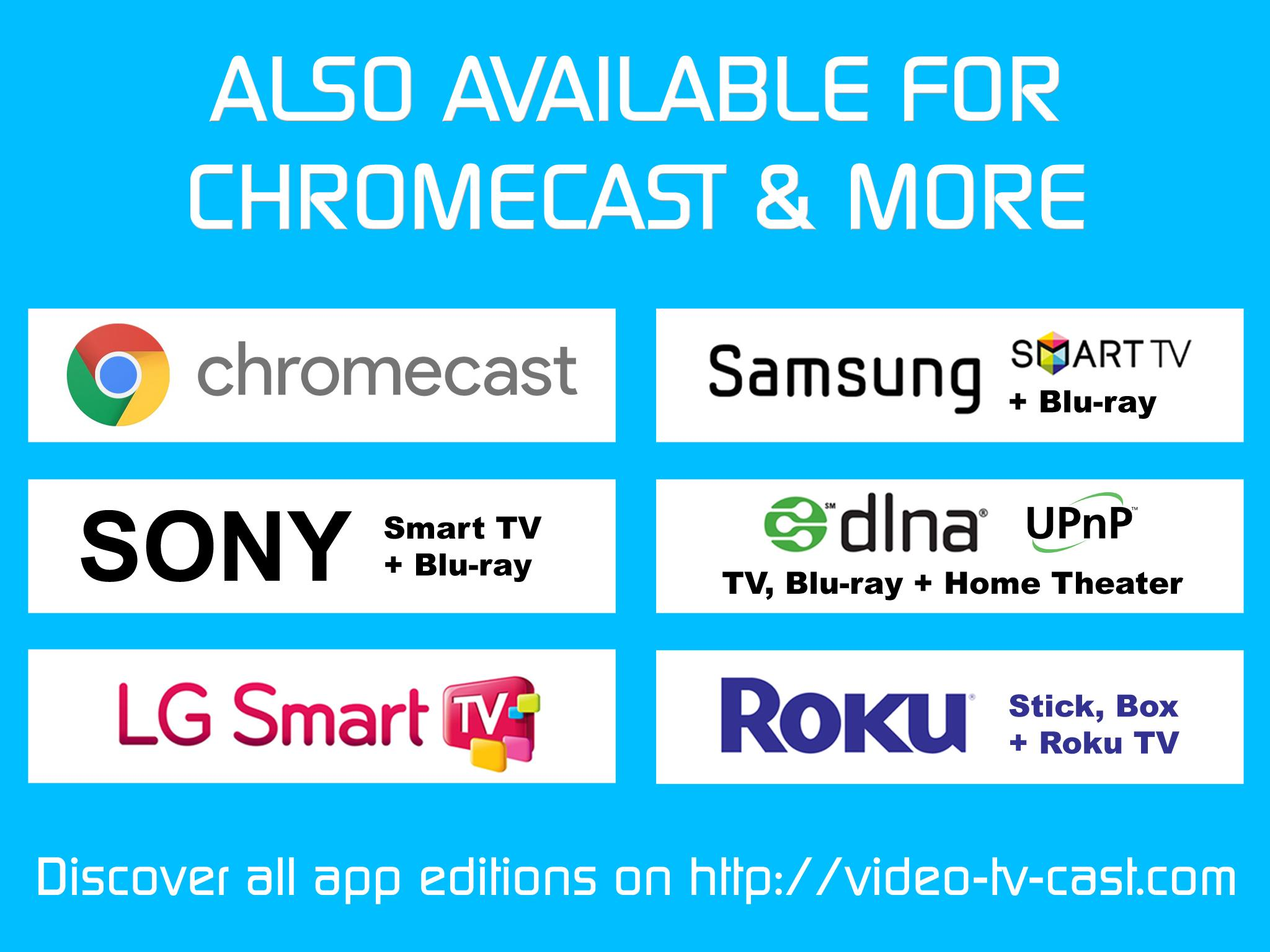 Video & TV Cast | Fire TV - Web Video Browser for Android