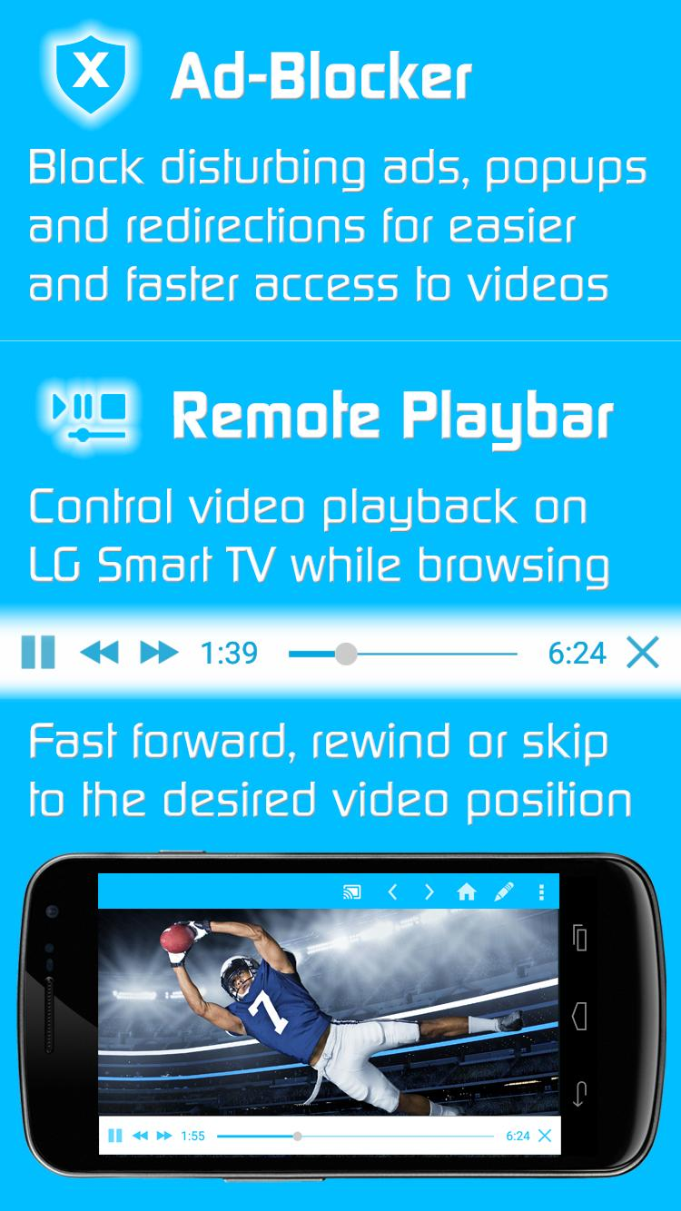 Video & TV Cast | LG Smart TV - HD Video Streaming for