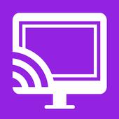 Video & TV Cast | Roku Remote & Movie Stream App 图标