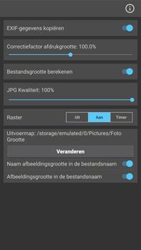 Foto Grootte screenshot 7