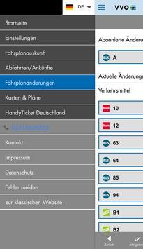 VVO mobil screenshot 5