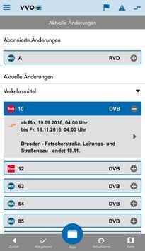 VVO mobil screenshot 6