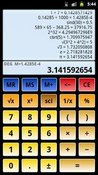 Calculadora científica 3 captura de pantalla 2