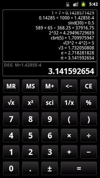 Calculatrice scientifique 3 Affiche