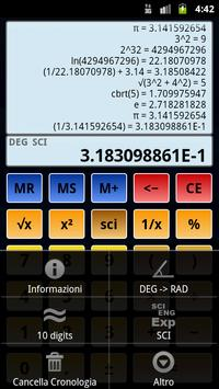 4 Schermata Calcolatrice scientifica 3