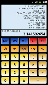 2 Schermata Calcolatrice scientifica 3