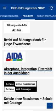 DGB-Bildungswerk NRW Seminare screenshot 4