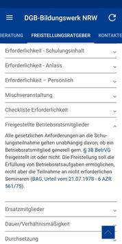 DGB-Bildungswerk NRW Seminare screenshot 5