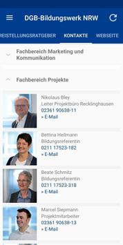 DGB-Bildungswerk NRW Seminare screenshot 6