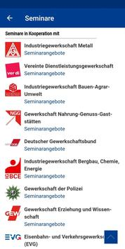 DGB-Bildungswerk NRW Seminare screenshot 2