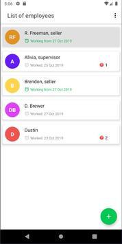 Empleasy - Offline employee time tracking screenshot 1