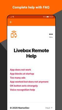 Livebox Remote ảnh chụp màn hình 7