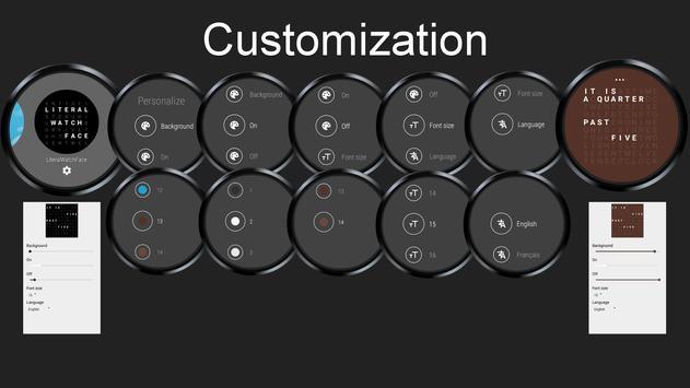 Literal WatchFace screenshot 2