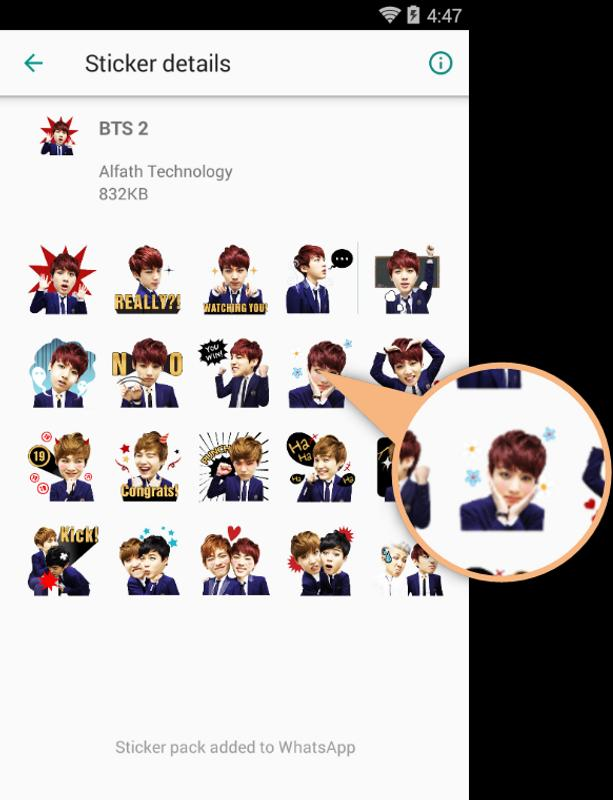 Sticker Bts For Wastickerapps For Android Apk Download