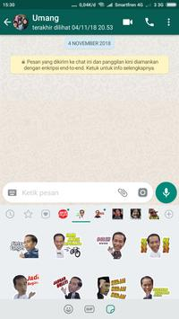 Sticker Jokowi for WAStickerApps screenshot 6