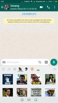 Sticker Lucu untuk WAStickerApps screenshot 9