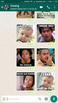 Sticker Lucu untuk WAStickerApps screenshot 3
