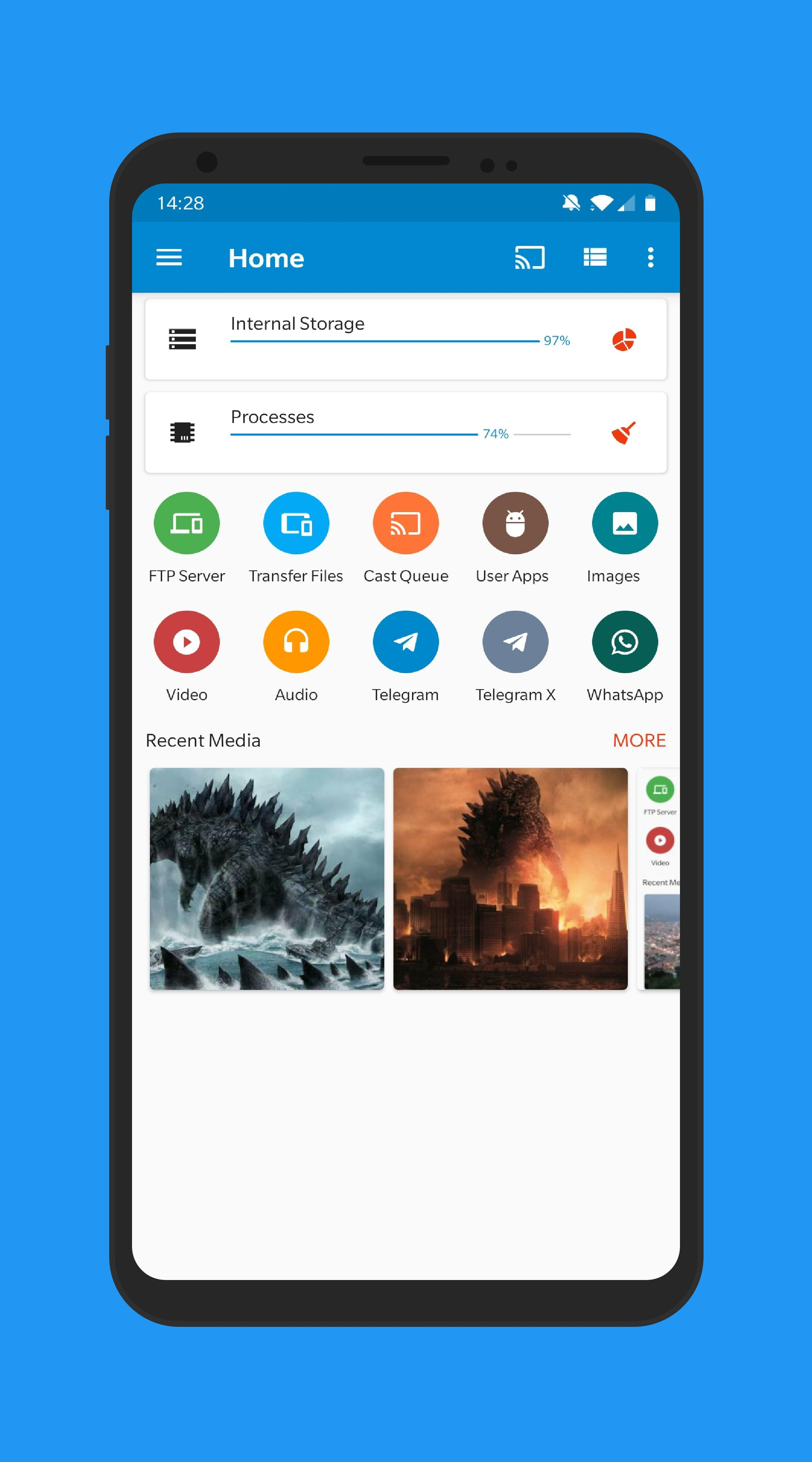 File Manager Pro Android TV USB Cloud Root WiFi for Android - APK Download