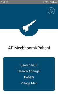 AP Meebhoomi/Adangal plakat