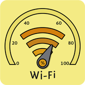 WiFi signal strength meter-icoon
