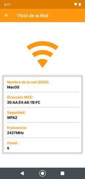 Medidor de intensidad de señal WiFi captura de pantalla 2