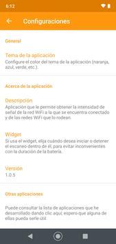 Medidor de intensidad de señal WiFi captura de pantalla 3