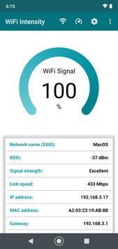 WiFi signal strength meter screenshot 5