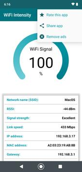WiFi signal strength meter screenshot 6