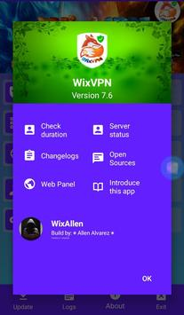 WixVPN screenshot 2