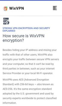 WixVPN screenshot 5