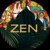 Zen. Medytacja, prana oddech joga, antystresowy ikona
